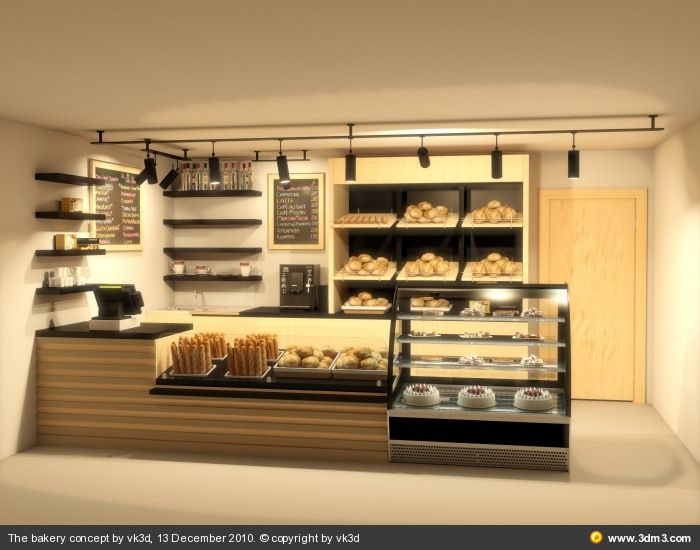 The Bakery Concept By Vk3d Community For Cg Artists Software Used 3ds Max