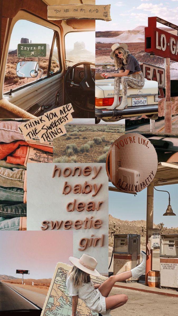 Blueeyedboho Western Wallpaper Western Wall Art Picture Collage Wall Art Collage Wall