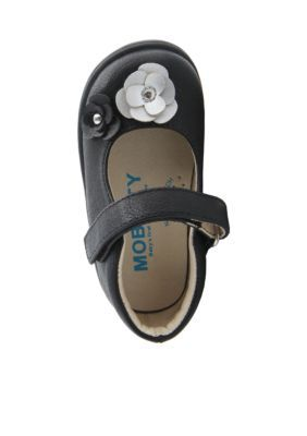Nina  Indigo Shoe-Youth/Toddler Sizes - Black - 5M Toddler