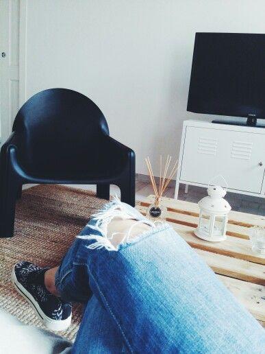 Living relax #kartell chair design Gae Aulenti