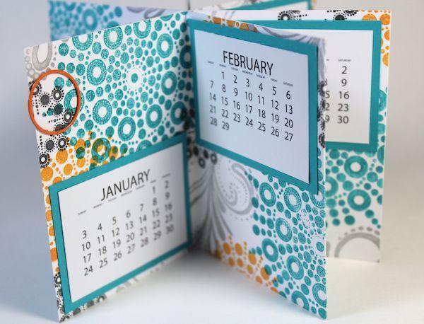 Calendar Tutorial #clubscrap #scorpal