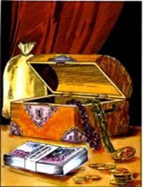 Ezoterikus iskola: Cigánykártya lapjai - pénz