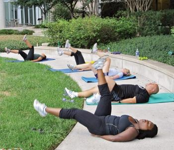 Go for some Gladiator Fitness Boot Camp at Discovery Communications' Sensory Garden: Camp Gladiator, Gladiator Fitness, Sensory Garden, Boot Camp, Garden Classes, Garden Exercise