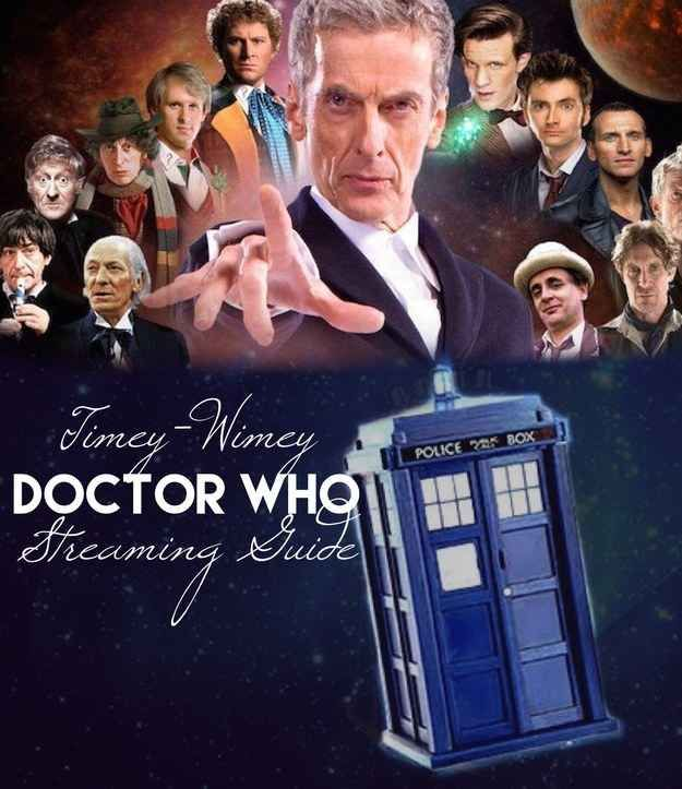 Stream Doctor Who With This Easy Timey-Wimey Guide