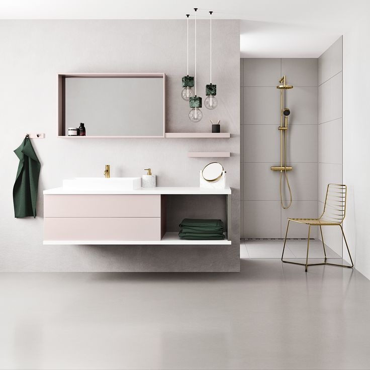 Our latest innovation means you can now have your bathroom furniture  custom-lacquered in exactly the colour you want.