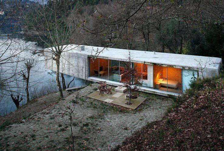 concrete house in ger s portugal by correia ragazzi kraft cabin pinterest chalet et maisons. Black Bedroom Furniture Sets. Home Design Ideas