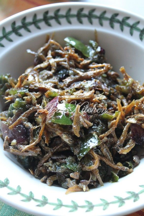 Azie Kitchen: Ikan Bilis Sambal Jawa ~ <3<3<3 w some bird eye chillies mixed in too; omit sugar mmm