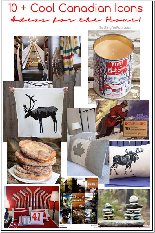 Happy Canada Day! 10+ Canadian icon ideas for your home!