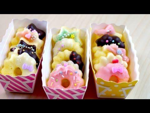 CLOSED:GIVEAWAY Microwavable Mini Donuts Mold 小さくてかわいい レンジでドーナッツ - YouTube