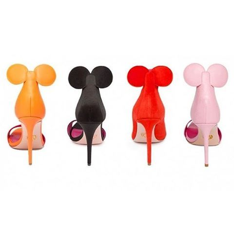 The Oscar Tiye Minnie Shoes Are a Must Have For A Disney Fashionista!