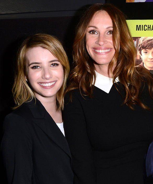 Julia Roberts and Emma Roberts
