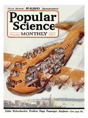 Front Cover of Popular Science Magazine: January 1, 1920 Art Print