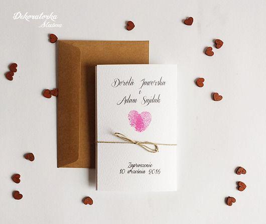 Ślub - zaproszenia, kartki-Zaproszenie ślubne