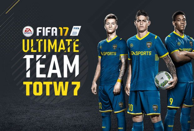 FIFA 17 TOTW 7 LIVE: Ultimate Team Lineup Week 5 for FUT gamers