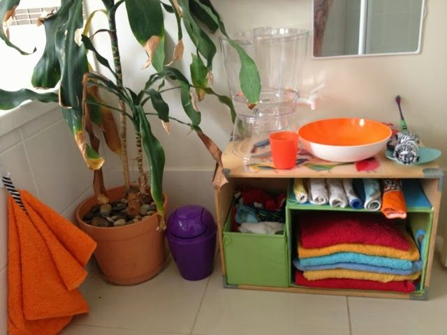 Milk Eyes: Montessori Bathroom For Toddlers