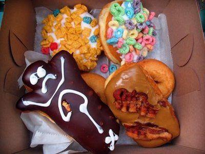 Voodoo Doughnuts in Portland, Oregon a must see