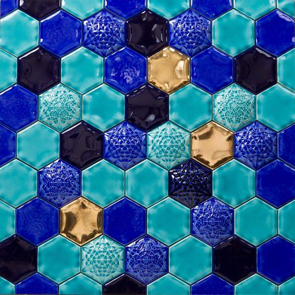 Classic Ceramics » Schumela Saphire Blue Mix
