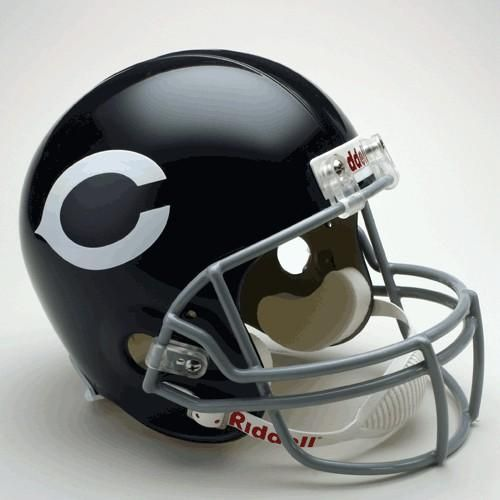 Chicago Bears Helmet Riddell Replica Full Size VSR4 Style 1962-1973 Throwback Special Order