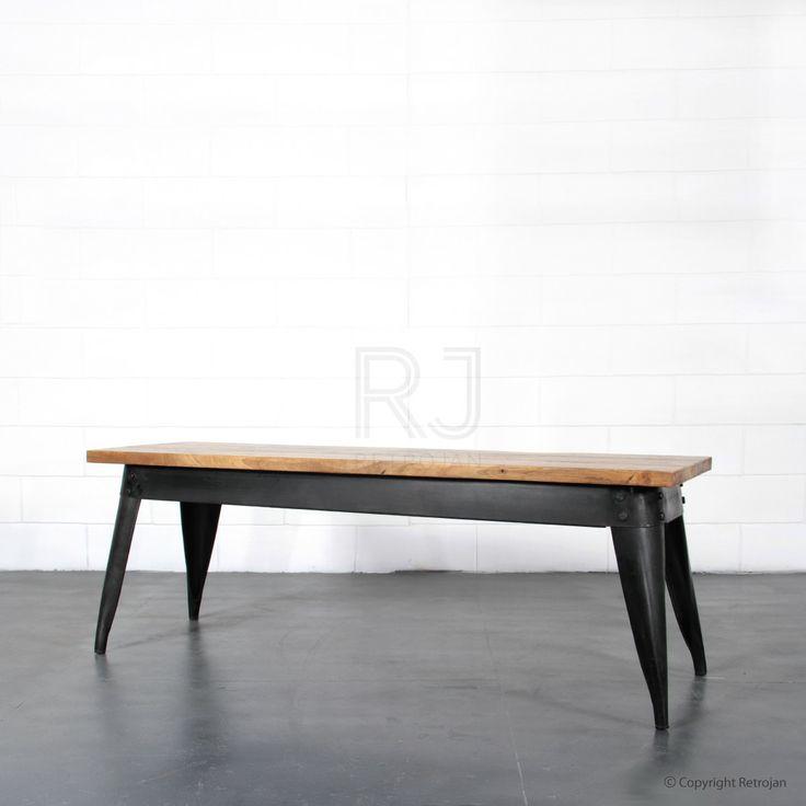 Buy Masja Bench (Black) Online | Benchs - Retrojan