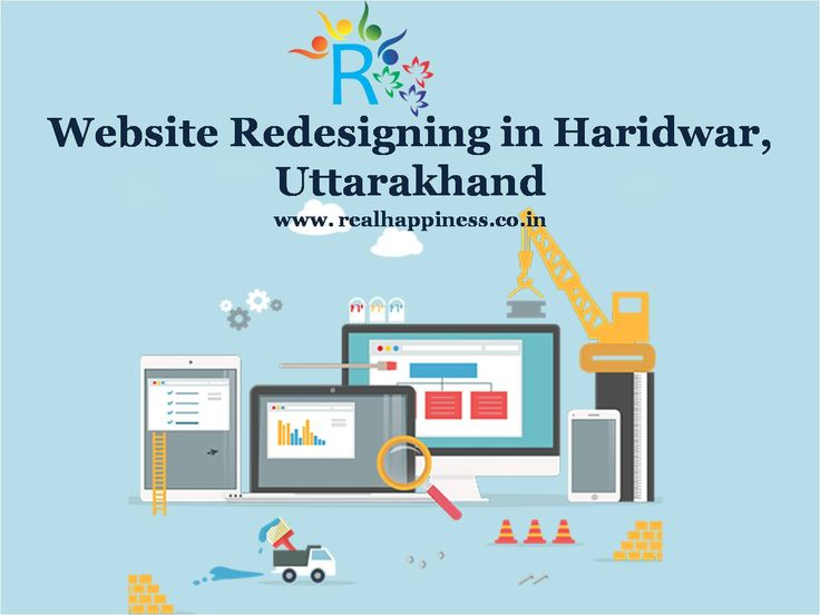 Website Redesigning in Haridwar, Uttarakhand Real Happiness can redesign your website for responsive and optimized website with the latest graphics,technologies, better user experience and updated content. http://realhappiness.co.in/web-design-development-in-haridwar-uttarakhand.html