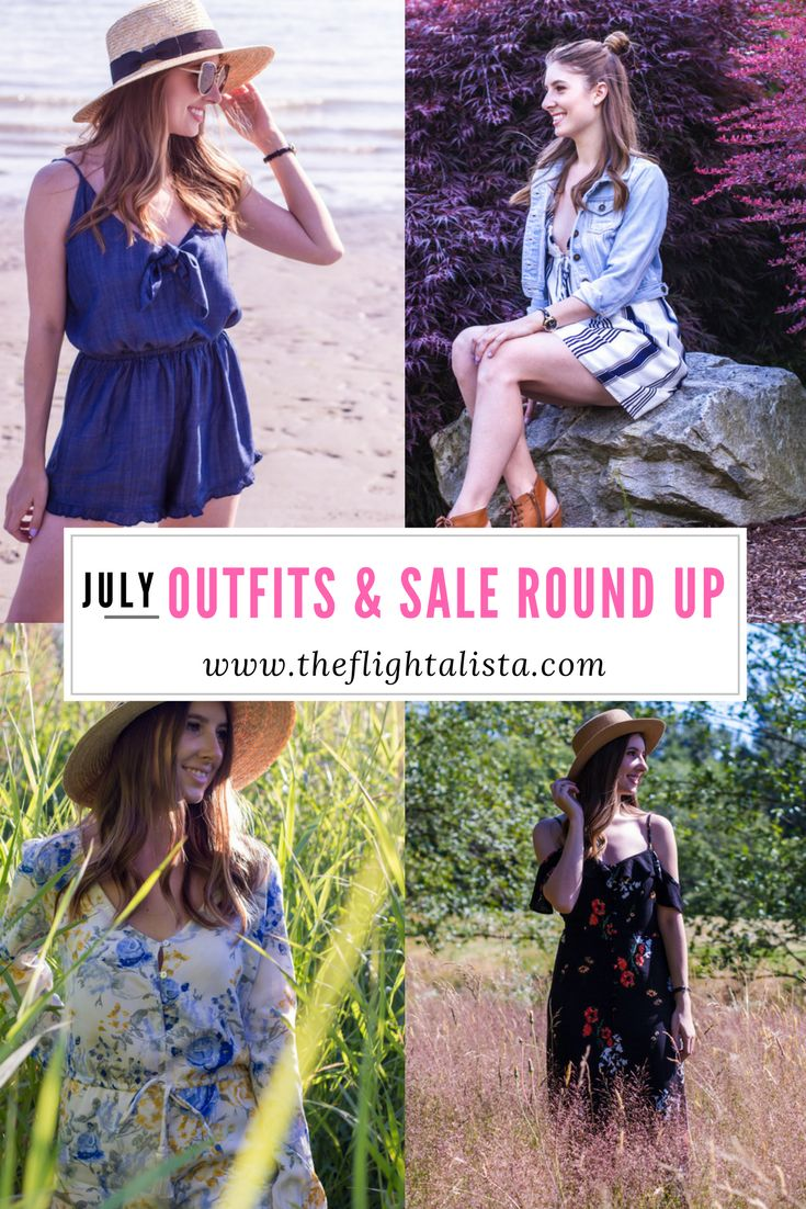 July Outfits, July Sales, Outfit Round Up, Sale Round Up, Summer Sales, Summer Style, Summer Fashion, Women's Fashion, Women's Outfits, Summer Outfits