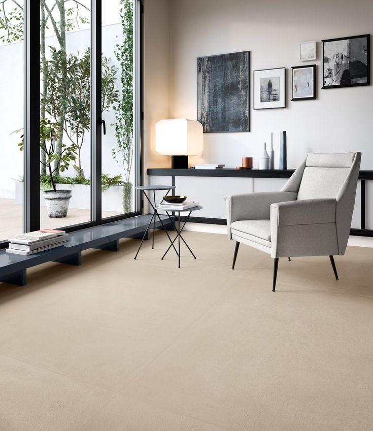 "fliese betonoptik großformat beige 60x60 ""ritual sand"" in"