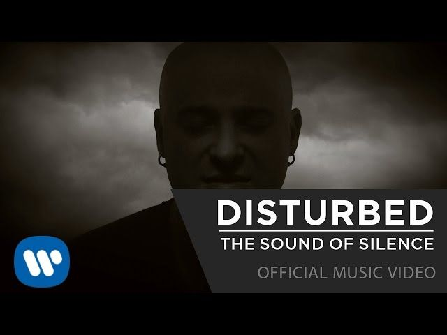 Disturbed  - The Sound Of Silence [Official Music Video] I think I've played this about 10 times over the last 2 days. SO AWESOME!! #Disturbed #TheSoundOfSilence #coversong