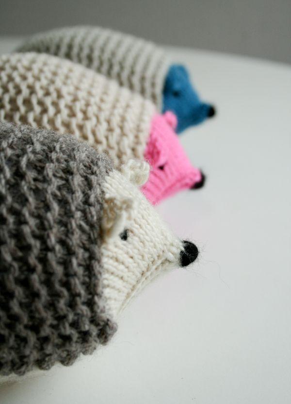 Knit Hedgehogs