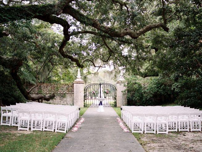 Morgan Chris Brookgreen Gardens Wedding Row Grand Strand