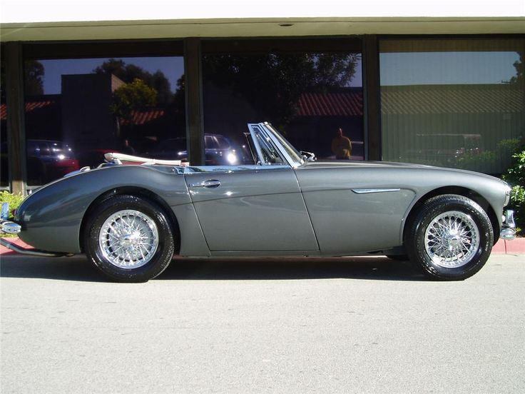 1964 Austin Healey 3000 Mark Iii Bj8 Lot 970 1 Barrett Jackson