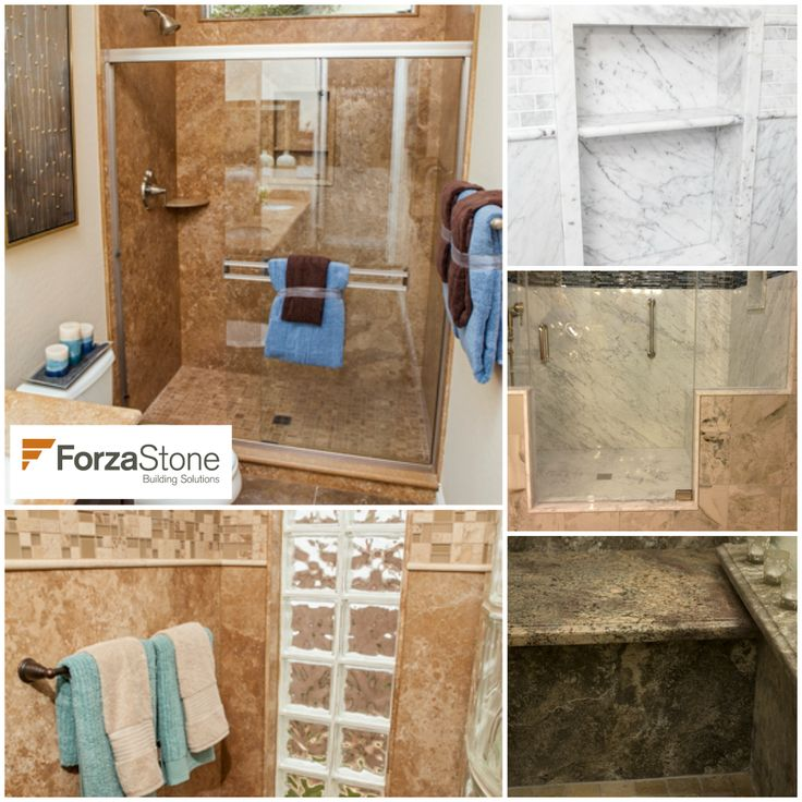 Re Tiling A Bathroom Floor: Forza Stone Bathroom Tiling By Re-Bath & More! We Don't
