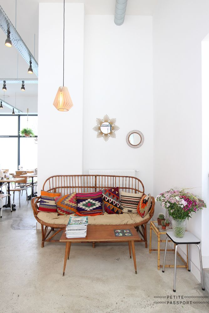 Cafe Mammouth In Bruxelles Belgium Via Petitepassport Bohemian Living RoomsBohemian RoomBohemian