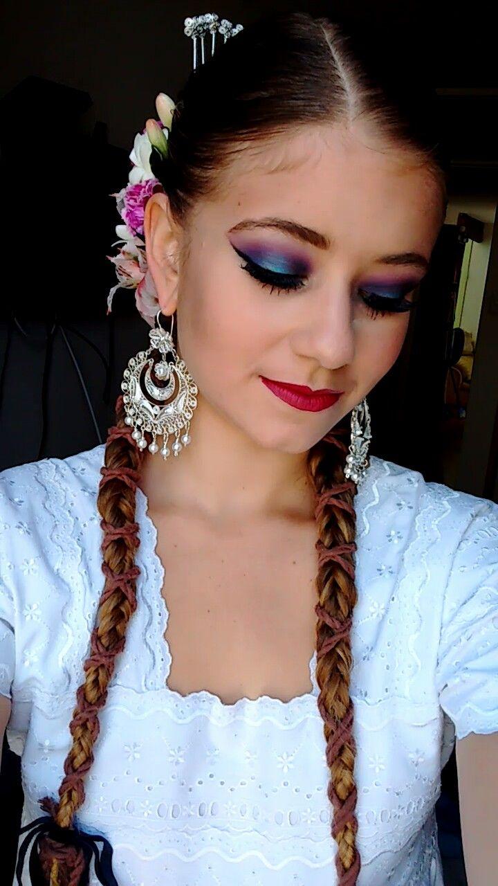 Marinera Makeup   #marinera #norteña #peruvian #peru #dance