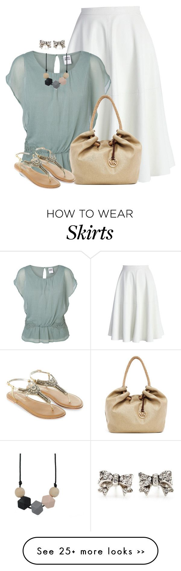 """Simple Flow & Sparkle"" by angelysty on Polyvore"