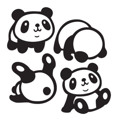 4 панды