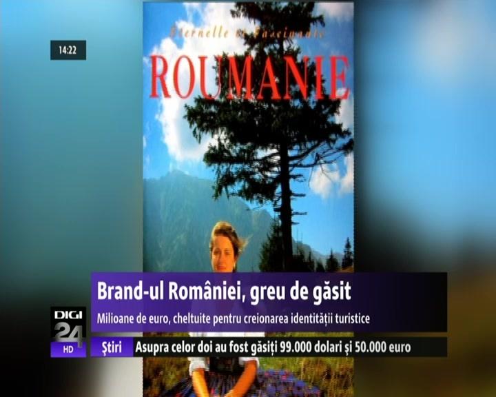 Din 1995 încoace, România a avut tot atâtea branduri turistice de ţară câte conduceri a avut ministerul de resort. De la albume foto, la parcuri tematice sau figuri marcante ale sportului românesc, oficialii români au încercat toate variantele pentru promovarea ţării. Cele mai multe s-au dovedit a fi doar găuri negre pentru banii de la buget sau din fondurile europene şi au fost abandonate de îndată ce s-a schimbat conducerea ministerului.