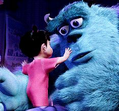 Monsters, Inc. Sully & Boo   | Sweetest Moment | GIF |   gifmania.com