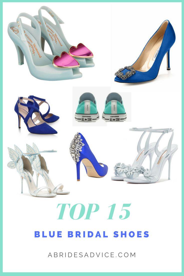 Blue Bridal Shoes | Blue Wedding Shoes | Flat Bridal Shoes | Something Blue | Wedding Heels | Best Blue Heels
