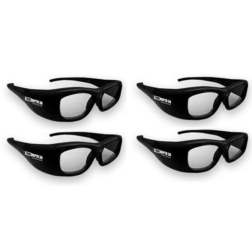 True Depth 3D® glasses for Samsung and Mitsubishi 3-D TVs Family 4 Pack! by TrueDepth3D. $215.99. You are looking at state of the art, high quality, low cost 3D shutter glasses by TrueDepth that can be used as an alternative to the expensive Samsung glasses ($150 per pair!) These glasses are fully compatible with Samsung 2010 LED, Plasma or LCD 3D TVs and will also work with Mitsubishi 3D TVs (Mitsubishi transmitter or 3DC-1000 is required) These glasses feature a larger view...