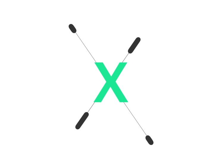 X by Patrick Finn motion graphics gifs - animating icons - 2d animated gifs - illustrated design in motion