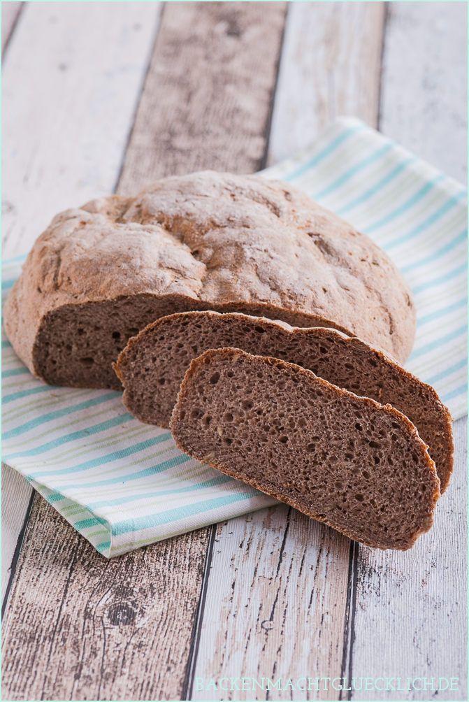 Glutenfreies Bauernbrot ohne Weizenmehl und Co   gluten free bread recipe