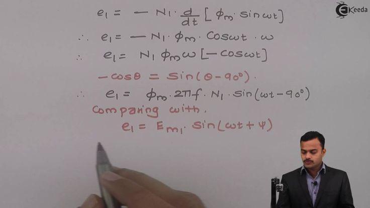 Learn Single Phase Transformer Online | EMF equation of a transformer | ...