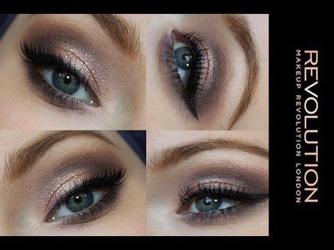 Makeup tutorial - ** Makeup revolution Iconic 3**