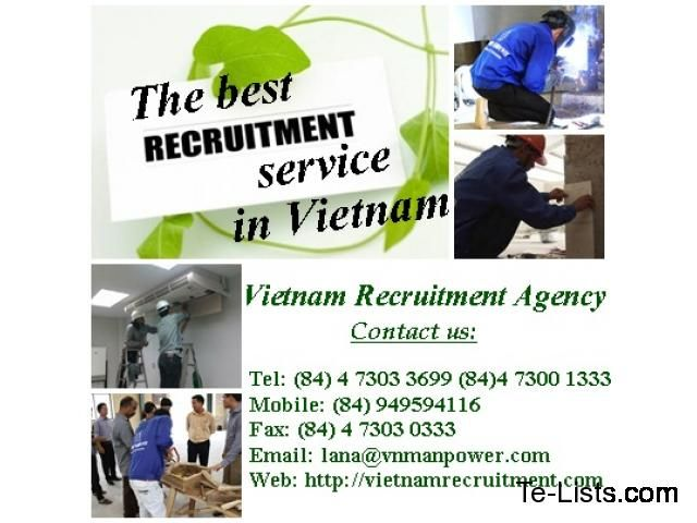 Vietnam Recruitment Agency -The leading recruitment consultant in Viet Nam | Other Services | Arcadia | United States
