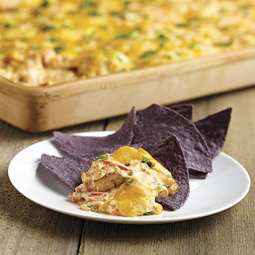 Seriously the best dip i have ever had!!! Chipotle Chicken Nacho Dip. Recipes and more at my website www.pamperedchef.biz/bekahbruggman