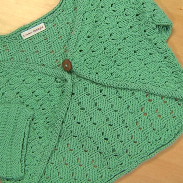 Knitting Cast On Techniques : Knit a sweater using seamless knitting techniques and