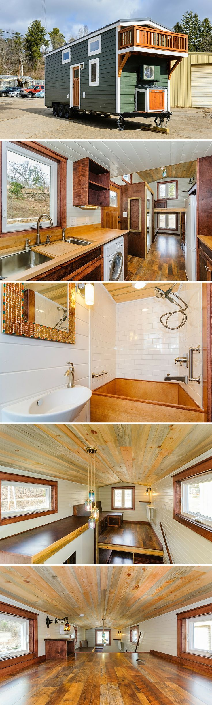 awesome The Sheriff, a 208 sq ft tiny house from Wishbone Tiny Homes... by http://www.danaz-homedecor.xyz/tiny-homes/the-sheriff-a-208-sq-ft-tiny-house-from-wishbone-tiny-homes/