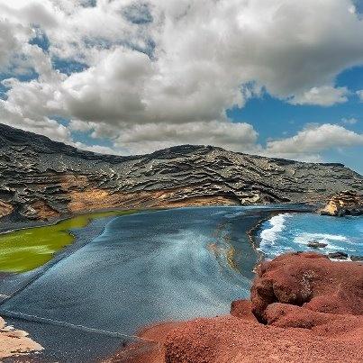 El Golfo, Lanzarote. Going back this Summer :)