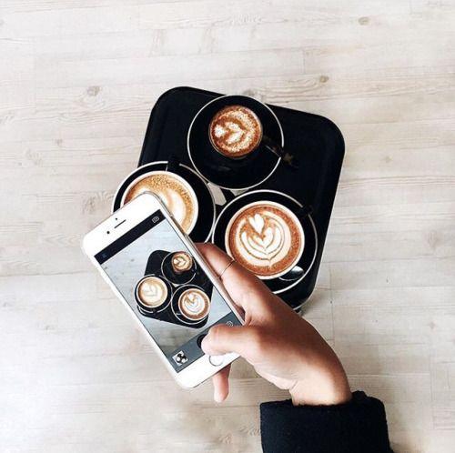 Coffee pic is always a good idea! #coffee #coffeetime #fashioncoffee by tayylorboone ☼