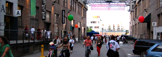 Kaapelitehdas: Dance, theatre, expositions, concerts, a cool cafeteria... It's far from the center, but it's worth it.